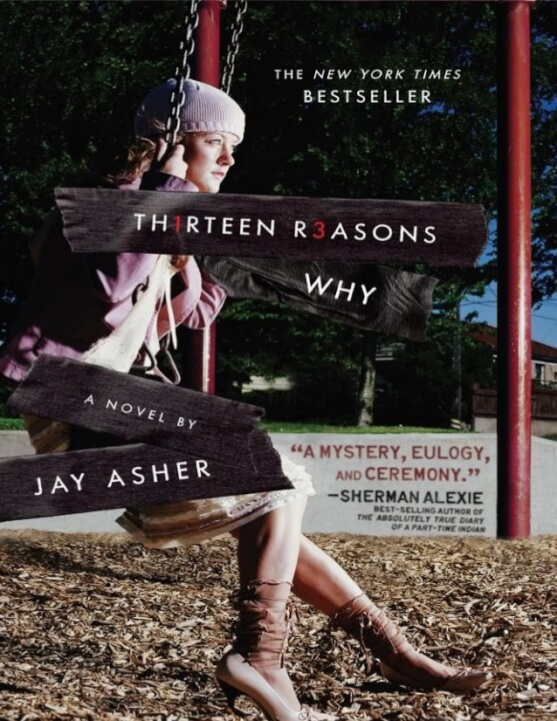 libro Thirteen Reasons Why.