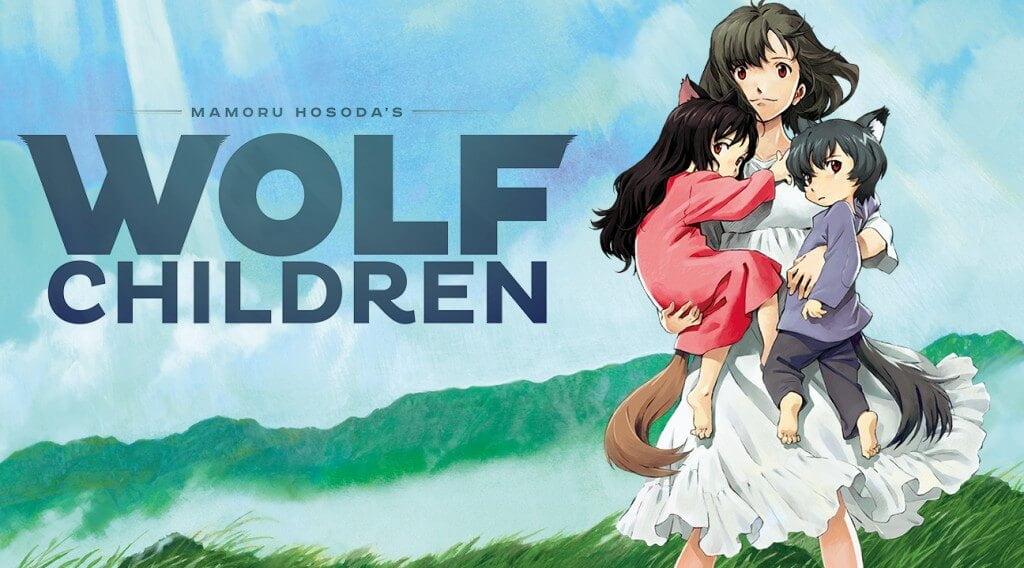 reseña película wolf children