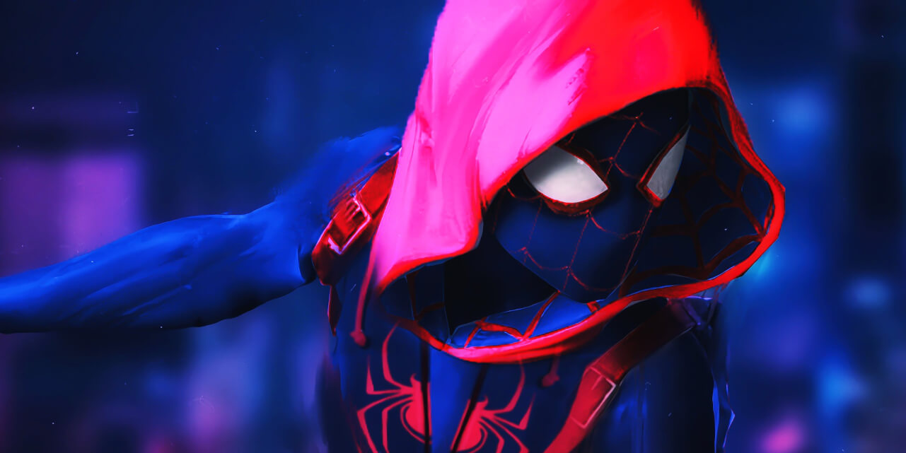 reseña película Spiderman animada into the Spider-Verse