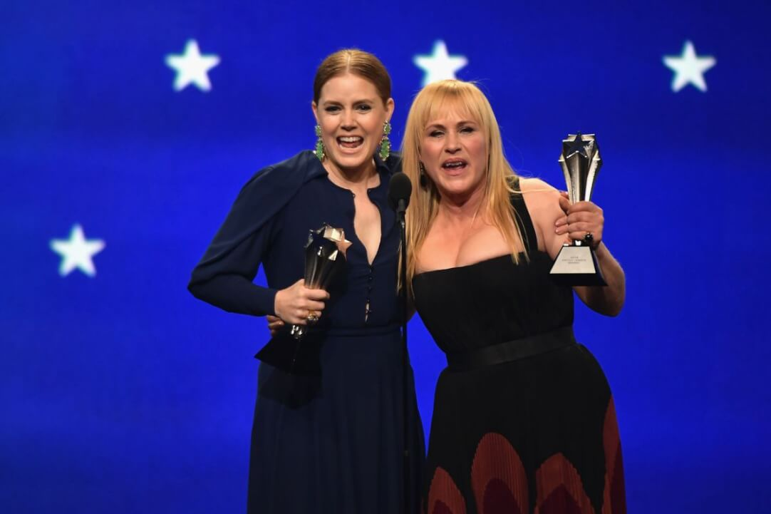 Critics' Choice Awards 2019 Amy Adams Patricia Arquette