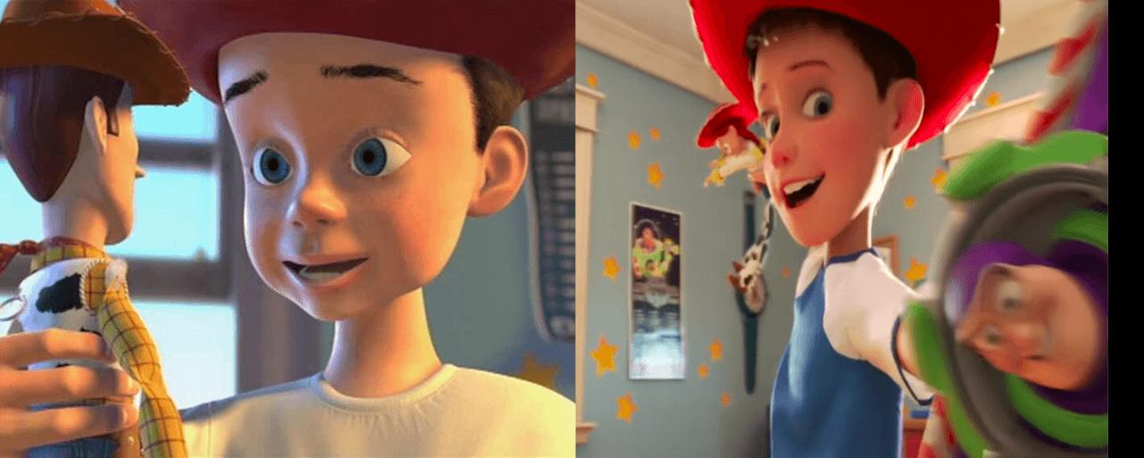 Andy antes y después
