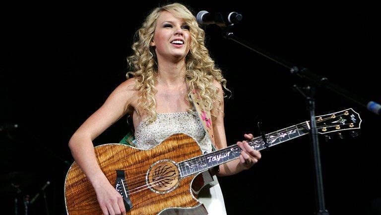 Taylor Swift en su primera gira