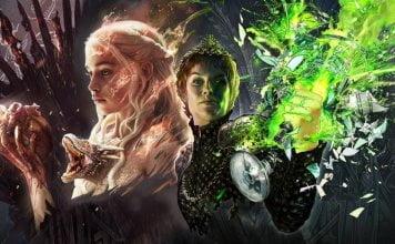 analisis daenerys cersei fan art