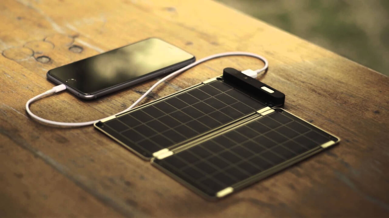 cargador solar para celulares ecológico