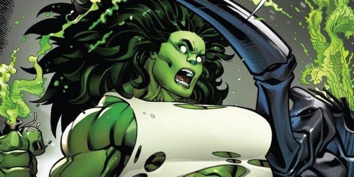 personajes femeninos más poderosos en cómics she hulk