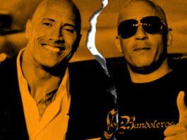 pelea entre Vin Diesel y Dwayne Johnson